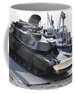 Marines Off-load An Armored Tank Coffee Mug