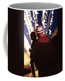 Me And Papa - 4th Of July Coffee Mug
