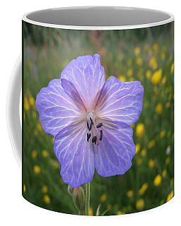 Meadow Cranesbill Coffee Mugs