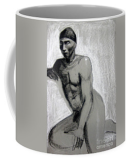 Coffee Mug featuring the drawing Meditations by Gabrielle Wilson-Sealy