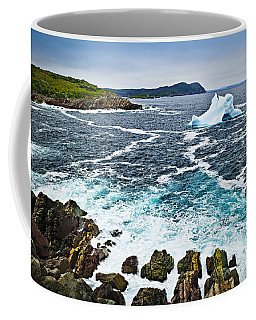 Melting Iceberg In Newfoundland Coffee Mug