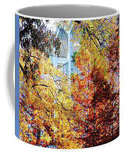 Coffee Mug featuring the photograph Memphis College Of Art Overton Park Memphis Tn by Lizi Beard-Ward