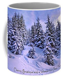 Merry Christmas And A Wonderful New Year Coffee Mug