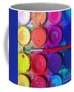 Primary Colors Coffee Mugs