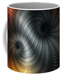 Metallic Spin Coffee Mug by Elaine Manley