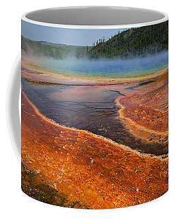 Middle Hot Springs Yellowstone Coffee Mug