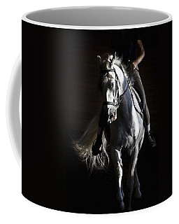 Coffee Mug featuring the photograph Midnight Ride by Wes and Dotty Weber
