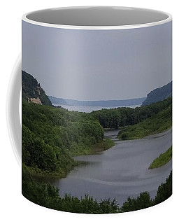 Mississippi River Panorama   Coffee Mug