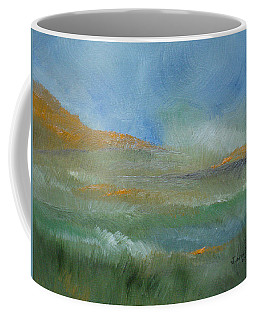 Coffee Mug featuring the painting Misty Morning by Judith Rhue