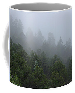 Misty Mountain Morning Coffee Mug