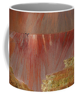Coffee Mug featuring the photograph Morenci Mine by Vicki Pelham