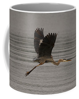 Coffee Mug featuring the photograph Morning Flight by Eunice Gibb