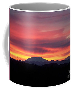 Coffee Mug featuring the photograph Morning Glow by Chalet Roome-Rigdon