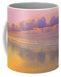 Coffee Mug featuring the photograph Morning On The Beach  by Lydia Holly