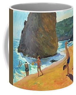Morning Platja Dos Rosais Costa Brava Coffee Mug