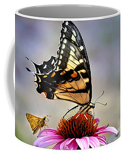 Coffee Mug featuring the photograph Morning Snack by Nava Thompson