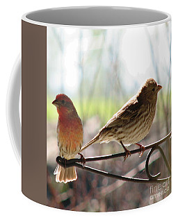Morning Visitors 2 Coffee Mug by Rory Sagner
