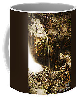 Coffee Mug featuring the photograph Morrell Falls 3 by Janie Johnson