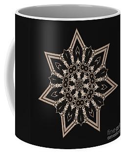 Mosaic Work Of Sepia Art  Coffee Mug