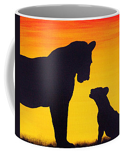 Mother Africa 3 Coffee Mug by Michael Cross