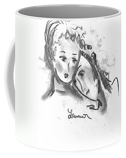 Mother Daughter Coffee Mug by Laurie L
