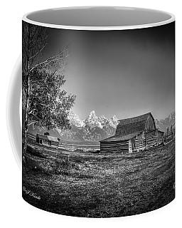 Moulton Barn Bw Coffee Mug