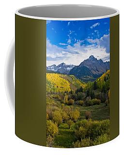 Mount Sneffels Under Autumn Sky Coffee Mug