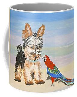 Mouthy Parrot Coffee Mug by Phyllis Kaltenbach