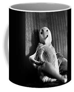Mr. Chicken Potato Head Takes A Smoke Break In The Back Seat Of My Car Coffee Mug