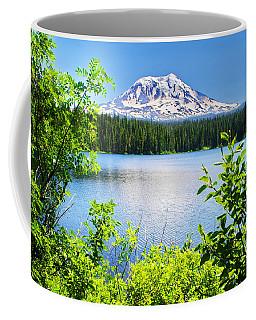 Mt Adams And Takhlakh Lake Coffee Mug