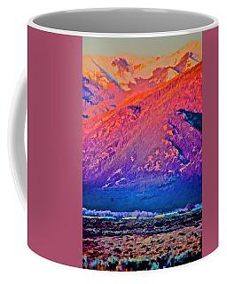 Mt Wheeler At Sunset Coffee Mug