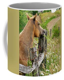 Munching On Daisies Coffee Mug