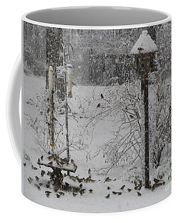 Coffee Mug featuring the photograph My Backyard by Donna Brown