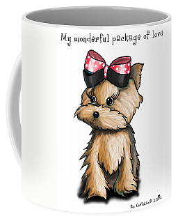 My Wonderful Package Of Love Coffee Mug