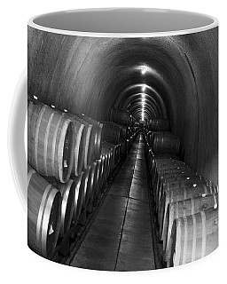 Napa Wine Barrels In Cellar Coffee Mug