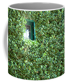 Napa Wine Cellar Window Coffee Mug