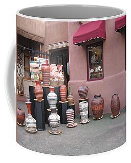 Coffee Mug featuring the photograph Native Jars And Vases Market by Dora Sofia Caputo Photographic Art and Design