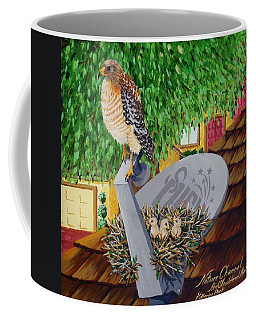Nature Channel- Red Shouldered Hawk Coffee Mug