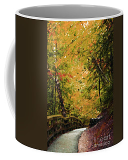 Coffee Mug featuring the photograph Nature In Oil  by Deniece Platt