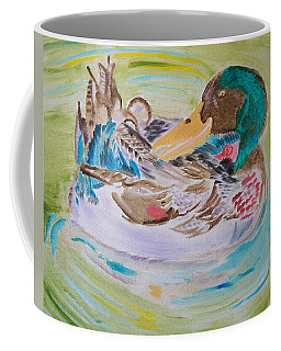 Nature's Music Coffee Mug by Meryl Goudey
