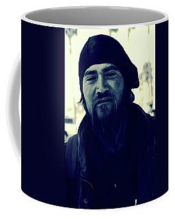 Navy Blue Man Coffee Mug