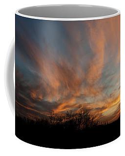 Nebraska Sunset Coffee Mug by Art Whitton