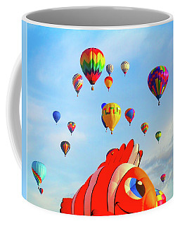 Nemo Blowing Bubbles Coffee Mug