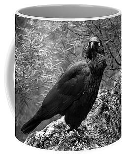 Nevermore - Black And White Coffee Mug