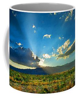 New Mexico Desert Coffee Mug by Betty LaRue