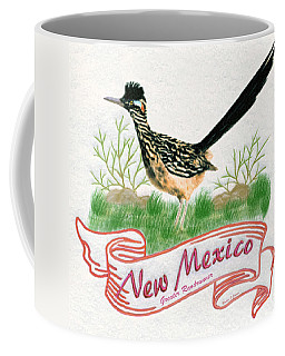 New Mexico State Bird The Greater Roadrunner Coffee Mug