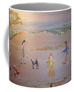 New Years Day Coffee Mug by Judith Desrosiers