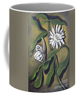 Night Blooming Cereus Coffee Mug by Randy Burns