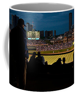 Night Game At Wrigley Field Coffee Mug