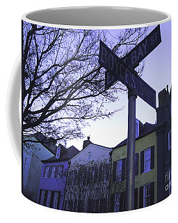 Coffee Mug featuring the photograph Night In Savannah by Andrea Anderegg